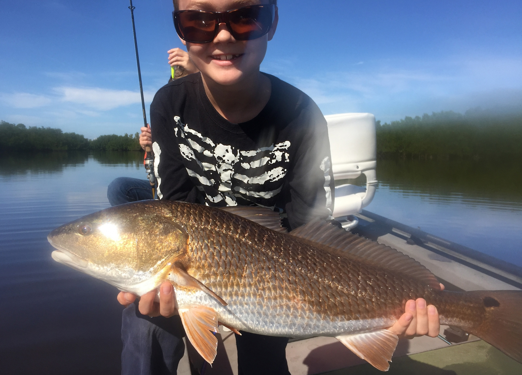 Kid Redfish Sight Fishing 2